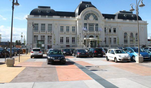 Zones de stationnement, places de marchés