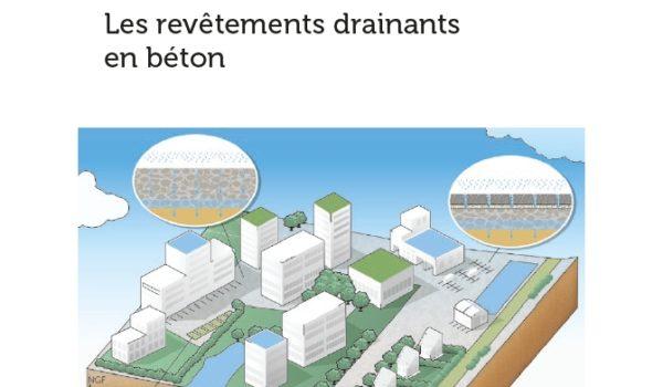 Imperméabilisation des surfaces urbaines – Revêtements drainants en béton