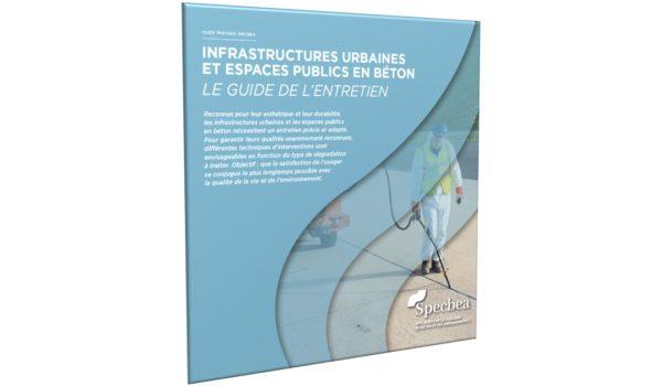 Publication d'un ouvrage sur l'entretien des infrastructures et espaces publics en béton