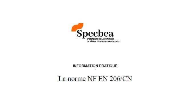 Norme NF EN 206/CN