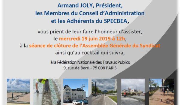 Assemblée Générale 2018-2019, le 19/06/2019