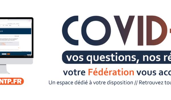 Covid_19 Entrepreneurs, nous vous accompagnons au quotidien pour répondre à vos interrogations