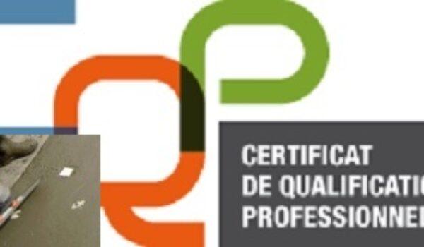 CQP «Chef applicateur de béton décoratif»